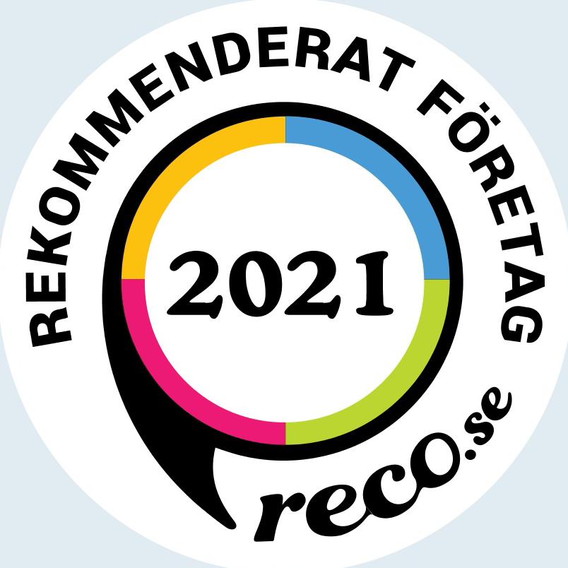 reco rekommenderat företag 2021