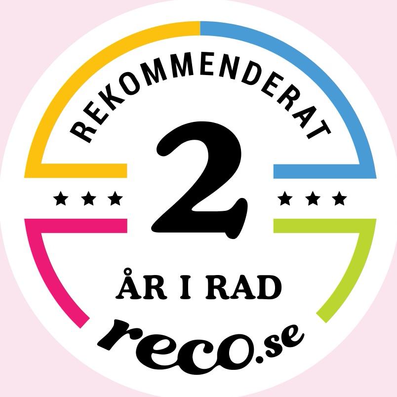 reco rekommendation två år i rad